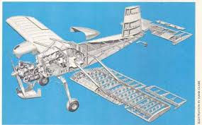 نقشه ساخت هواپیمای دونفره vp2